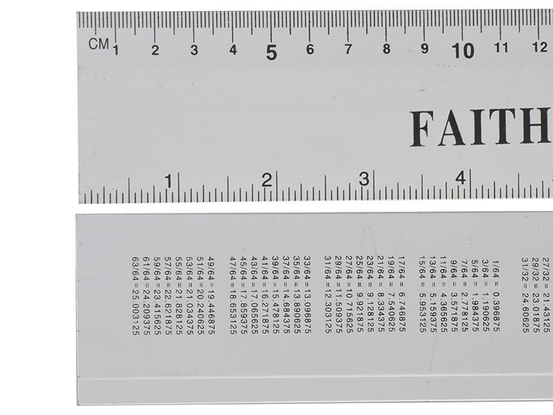 Faithfull-Aluminium-Regle-300-mm-12-in-environ-30-48-cm-FAIRULE-300