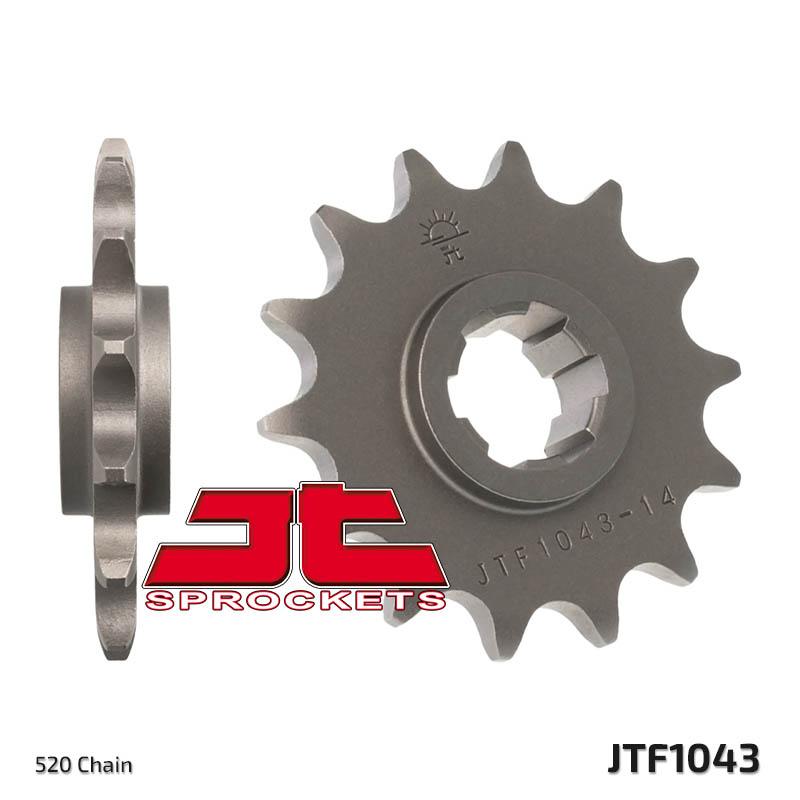 14T JT FRONT SPROCKET FITS KYMCO 250 VENOX 2004-2009