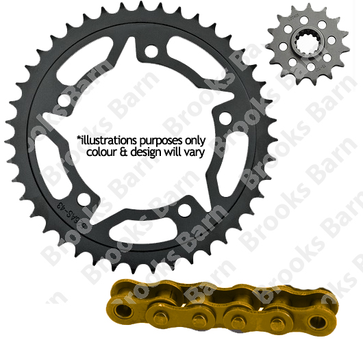 JT Sprockets 520 Rear Sprocket Steel 30 Teeth Silver JTR1071.30